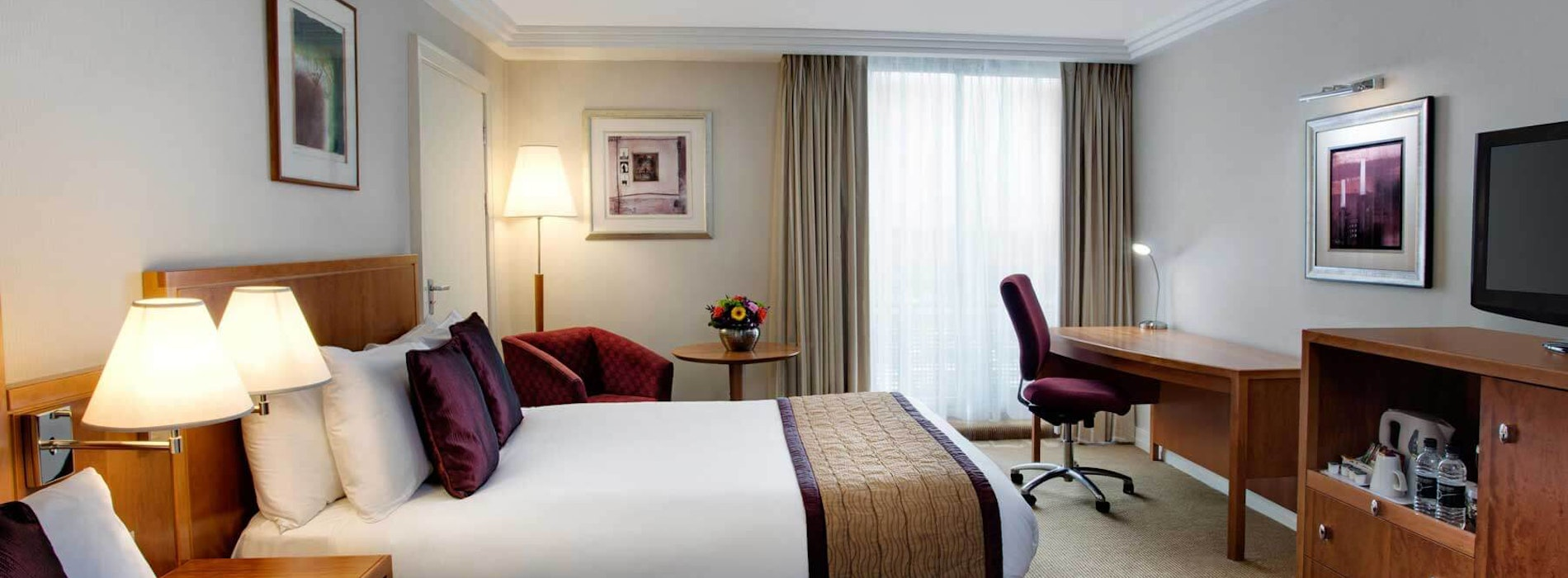 Crowne Plaza Heathrow near Chessington World of Adventures Resort