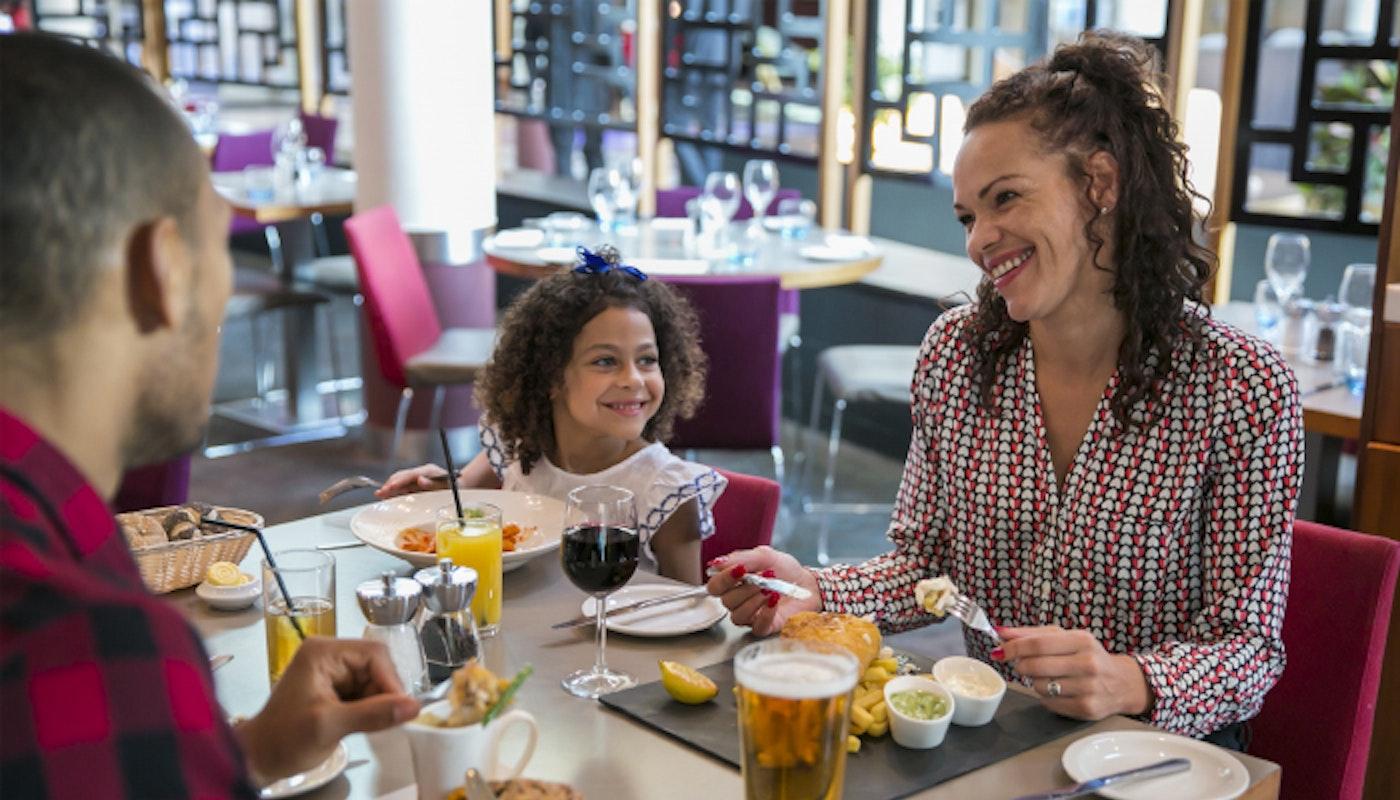Dinner at teh Novotel Heathrow