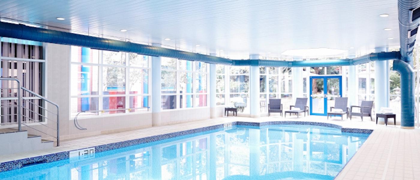 Swimming Pool at the Novotel Heathrow near Chessington Resort.