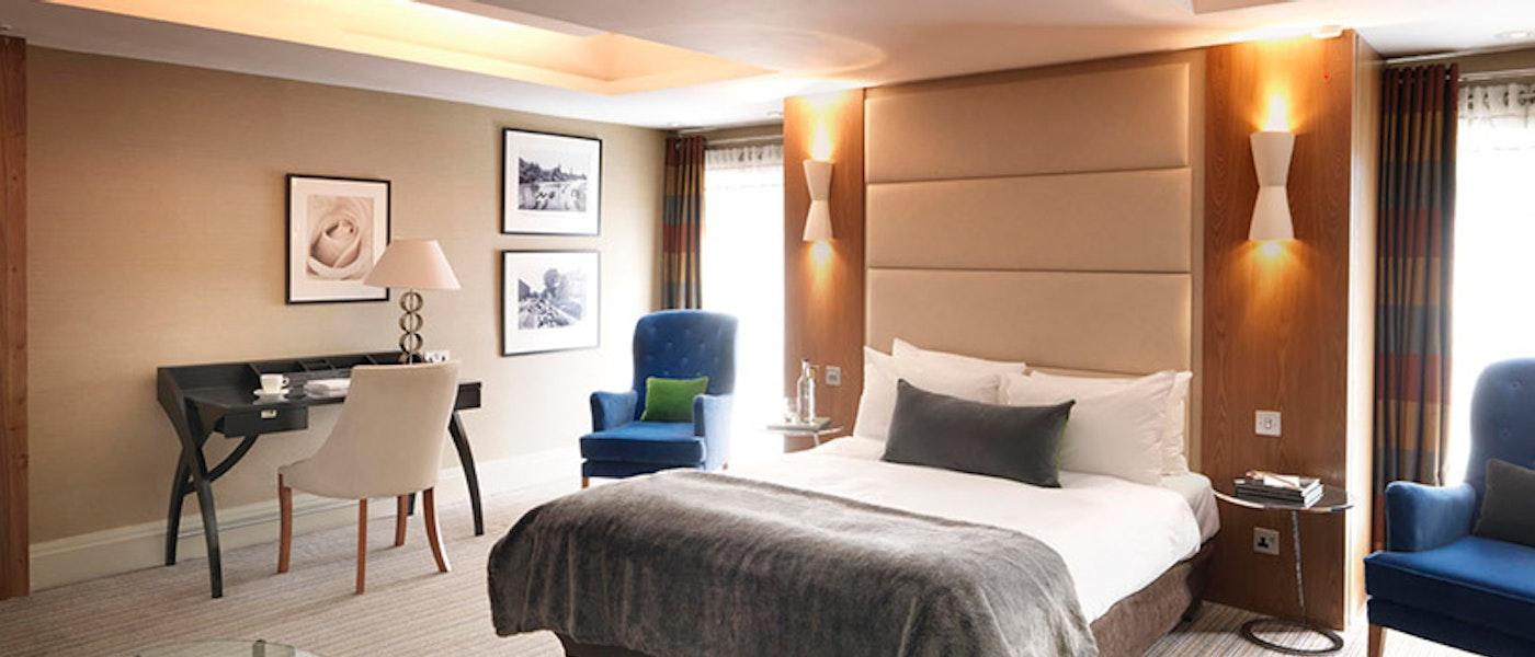 Family room at the Doubletree Hilton near Chessington Resort.