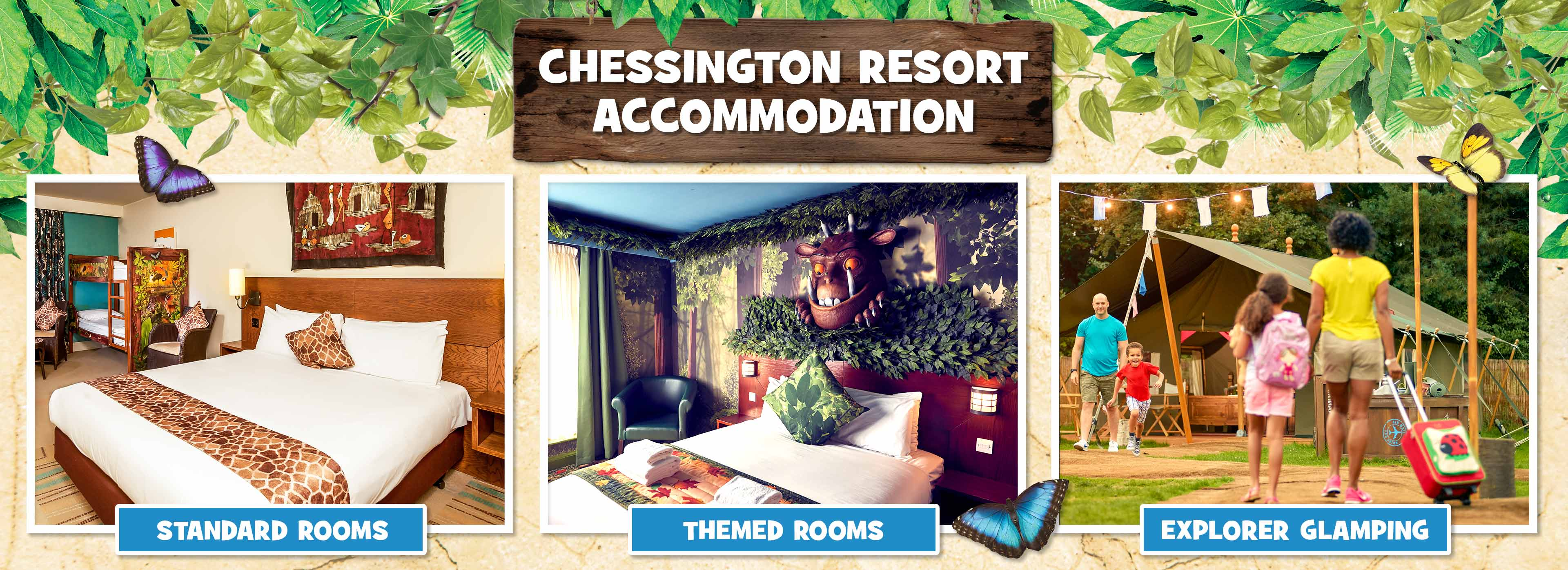 Resort hotels at Chessington