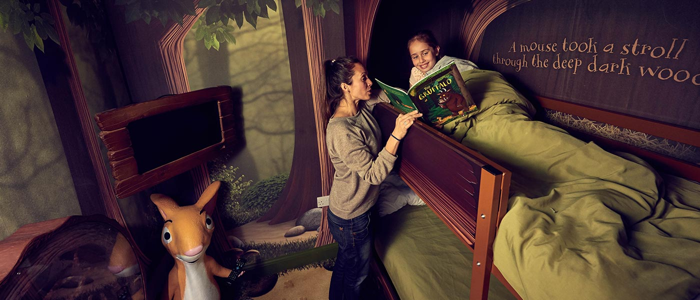 Gruffalo Themed Rooms at Chessington World of Adventures Resort
