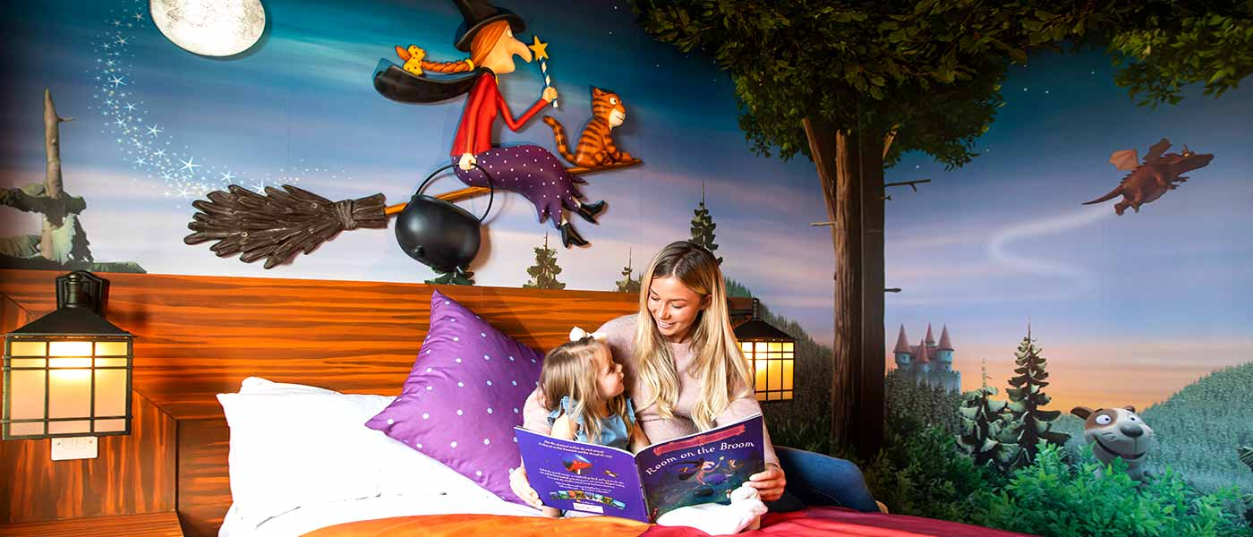 Room on the Broom Room at Chessington Resort