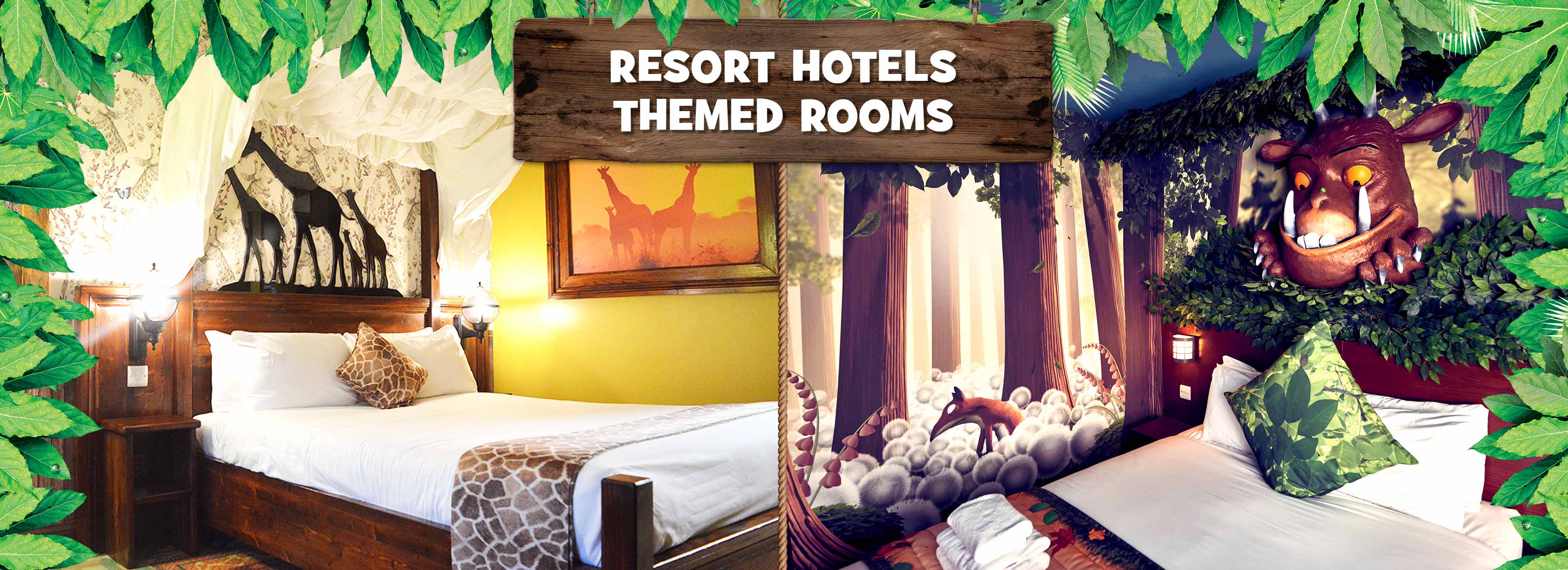 Themed Rooms at Chessington Hotels