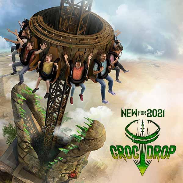 Croc Drop at Chessington Resort