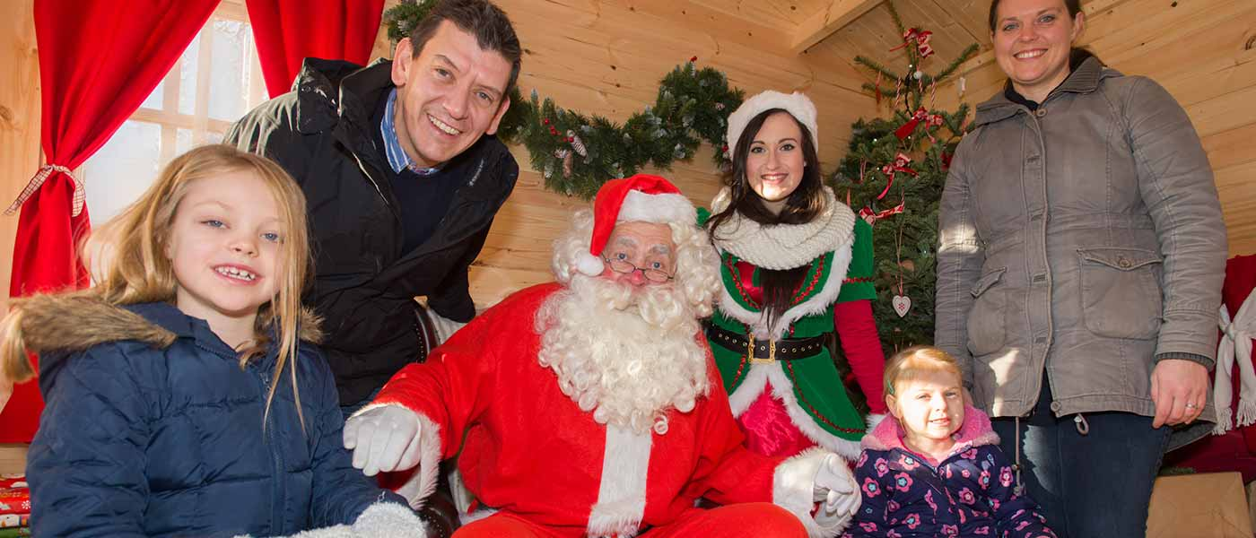 Meet Father Christmas at Chessington Resort