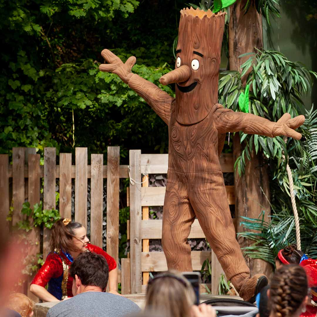 Stick Man at Chessington Resort