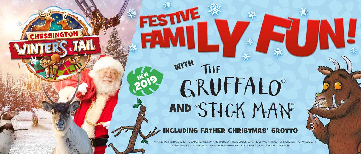 Father Christmas Sleepovers in 2019 at the Chessington World of Adventures