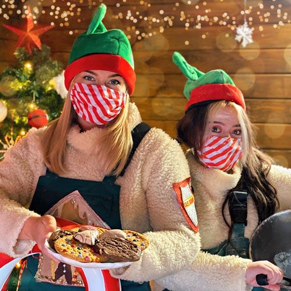 Christmas Elf at Chessington Resort
