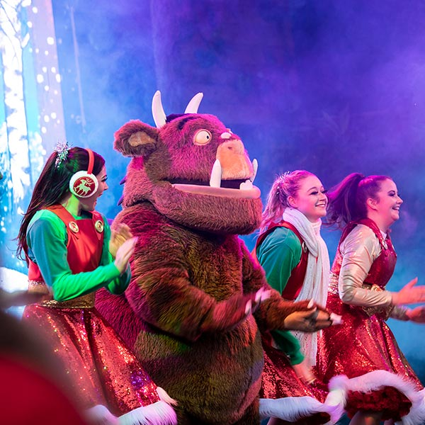 Gruffalo Christmas Groove at Chessington Resort