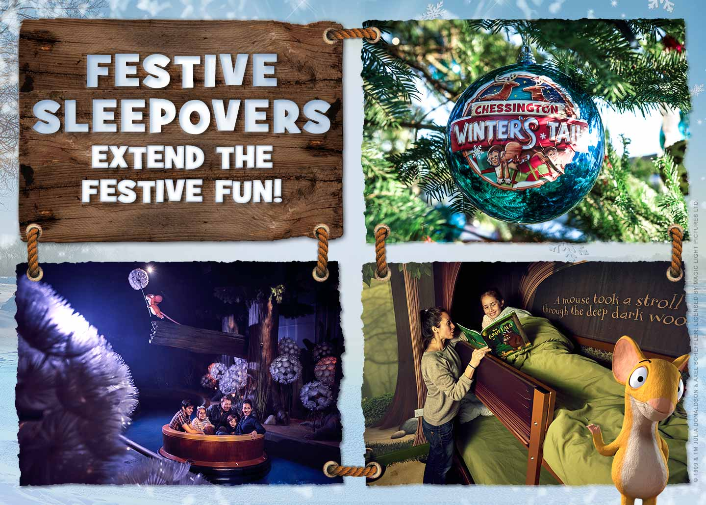 Festive Sleepovers 2020 at Chessington World of Adventures Resort