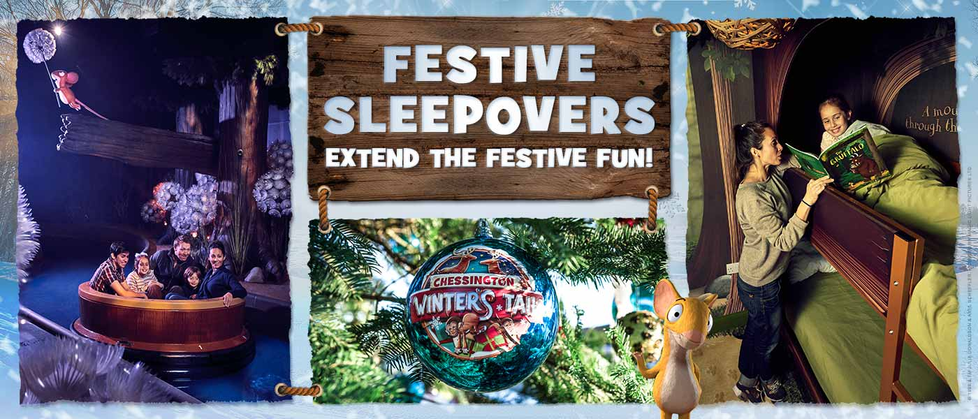 Festive Sleepovers in 2019 at Chessington Resort