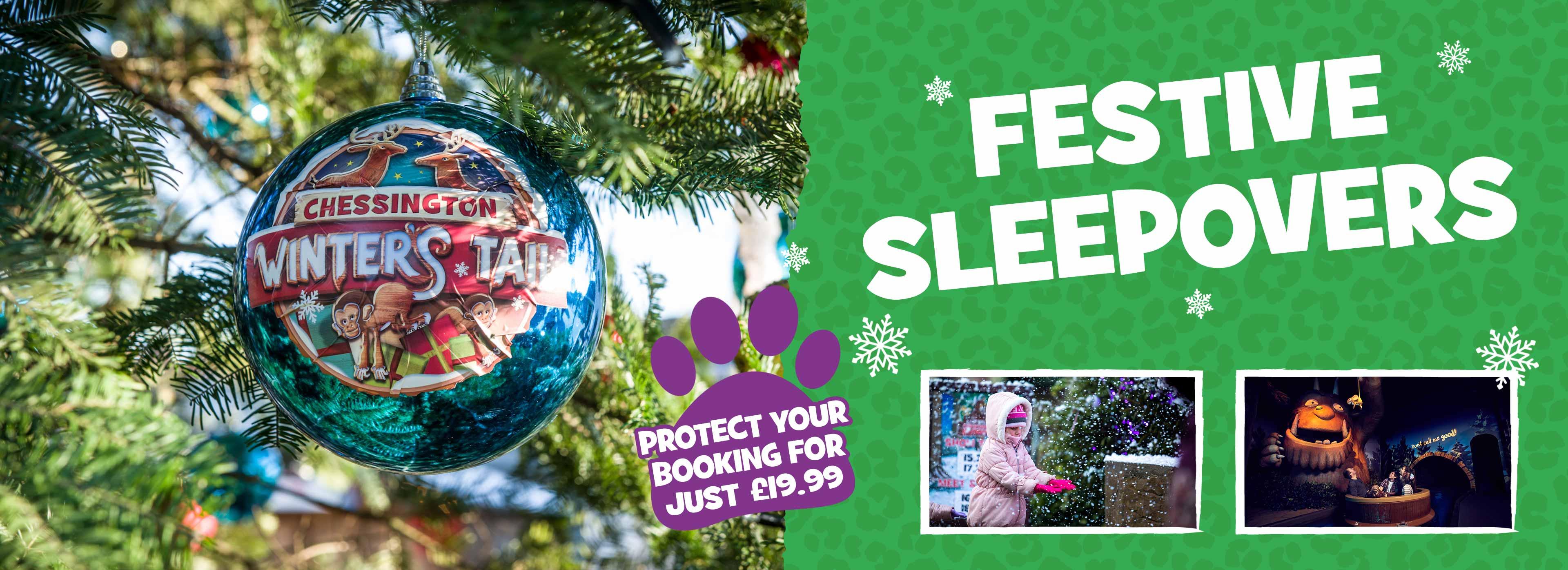 Festive Sleepovers 2020 at Chessington World of Adventures Resort