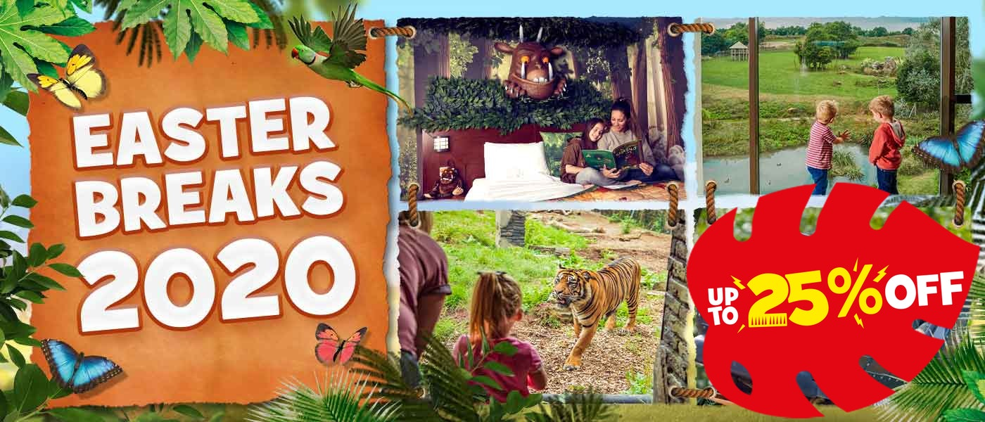 Easter breaks 2020 at Chessington Resort