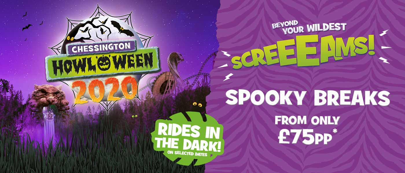 Halloween event at Chessington World of Adventures Resort