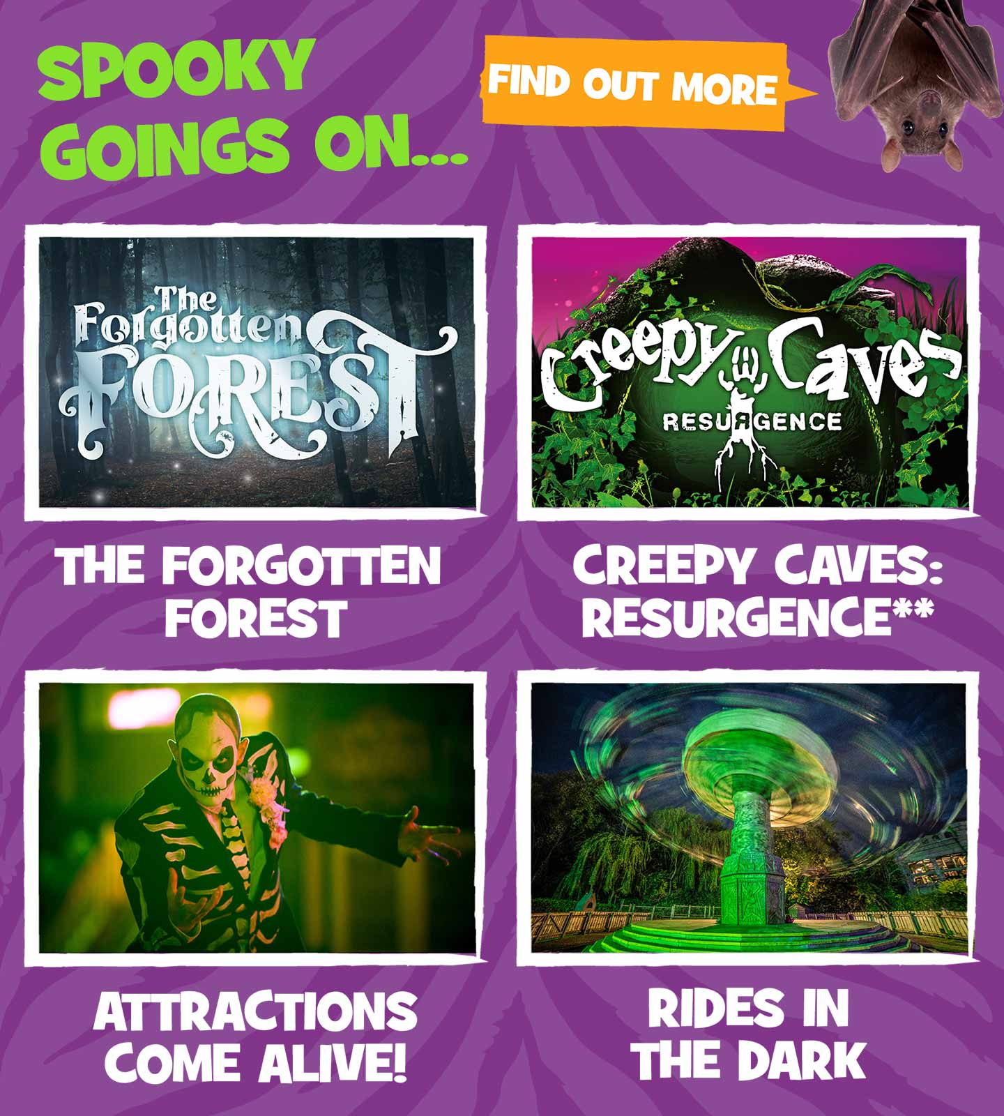 Spooky attractions at Chessington Resort