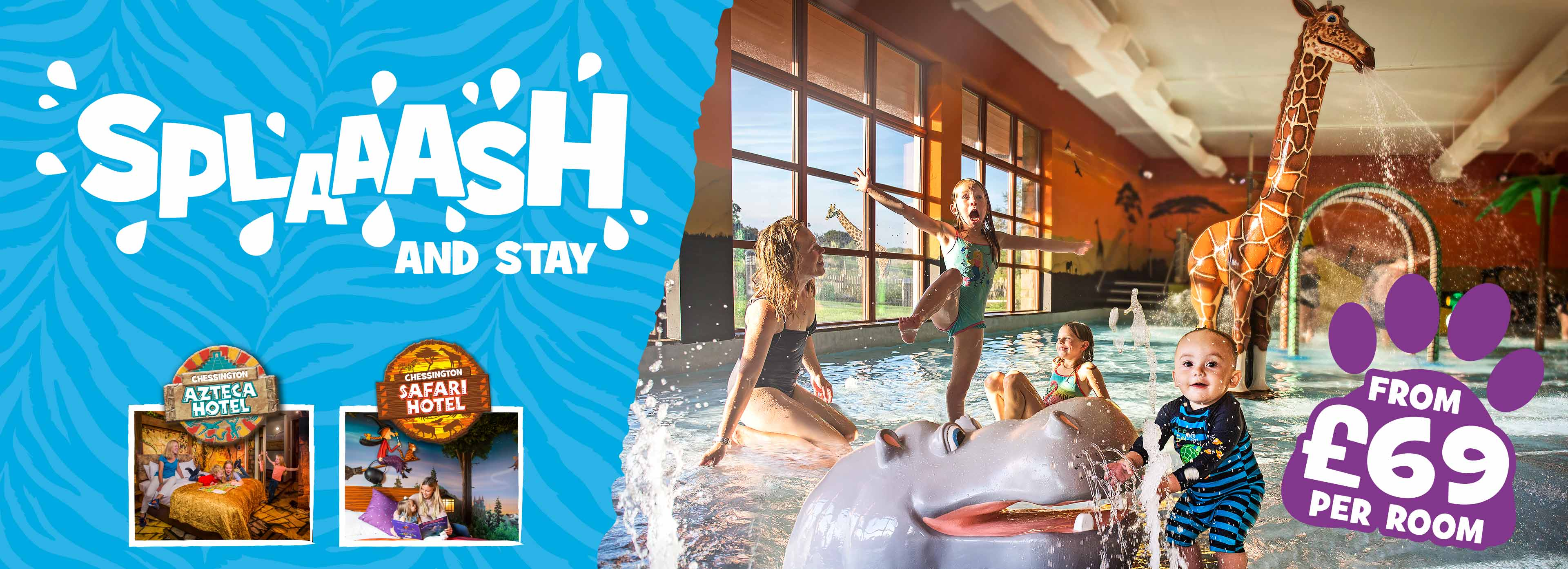 Splash and Stay at Chessington World of Adventures
