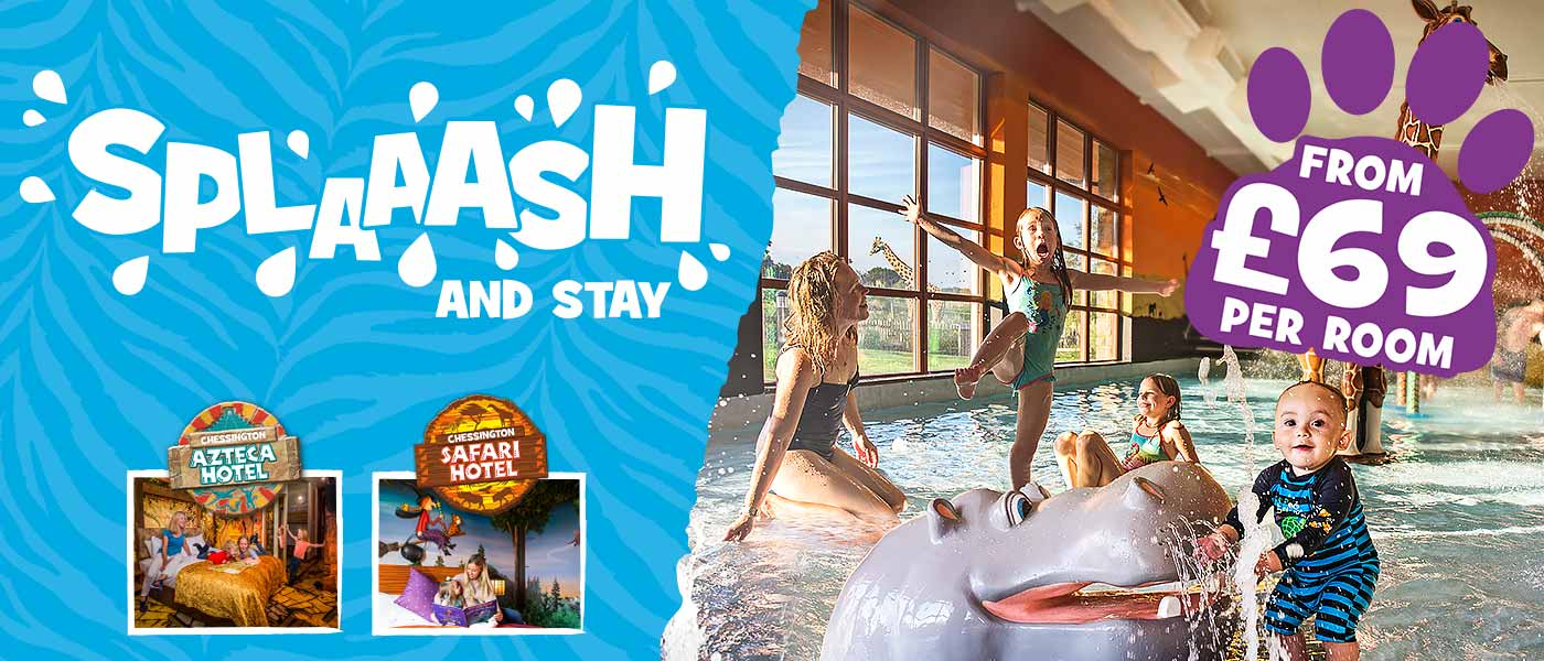 Splash and Stay with Chessington Holidays