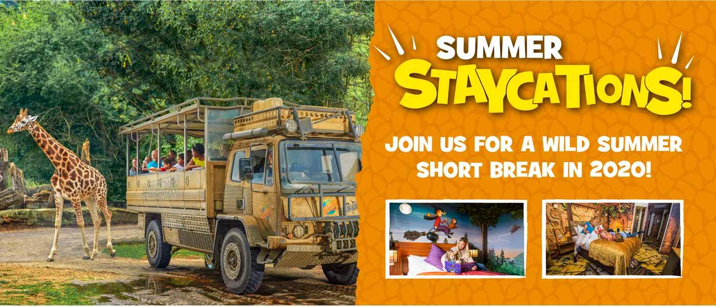 Summer breaks 2020 at Chessington Resort