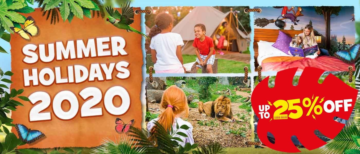 Summer Holidays 2020 with Chessington Holidays