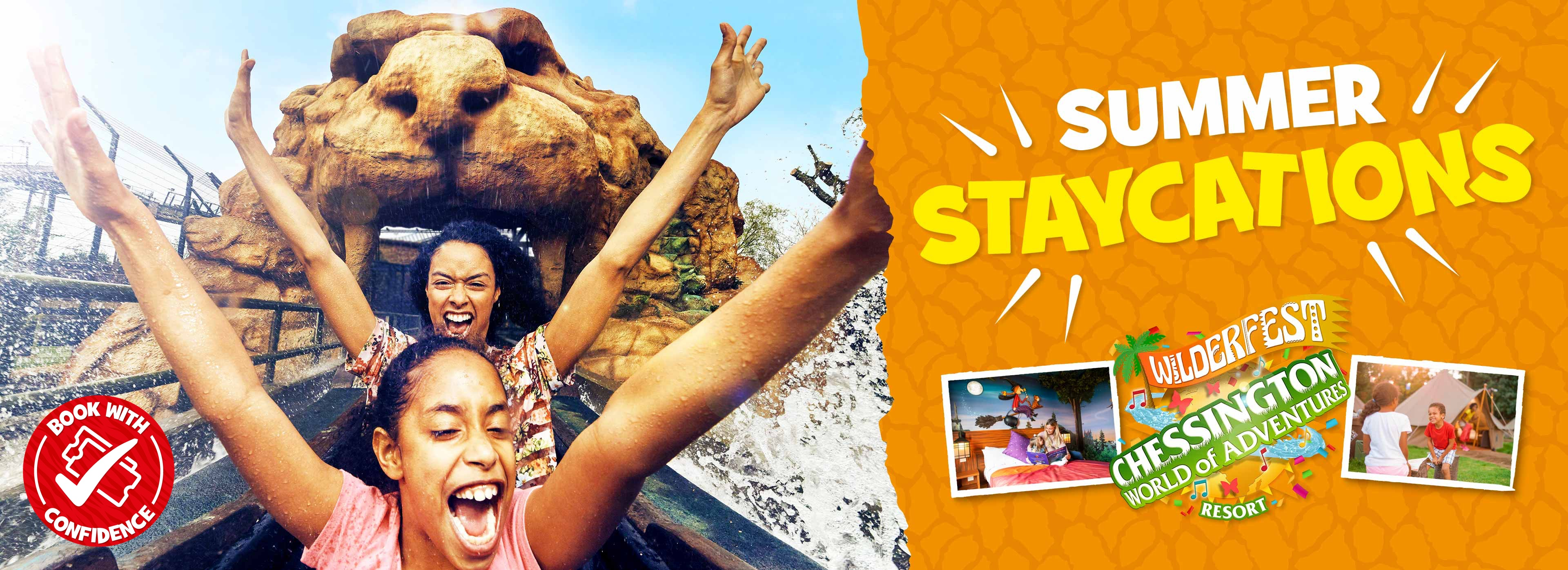 Roarsome staycations at Chessington World of Adventures Resort