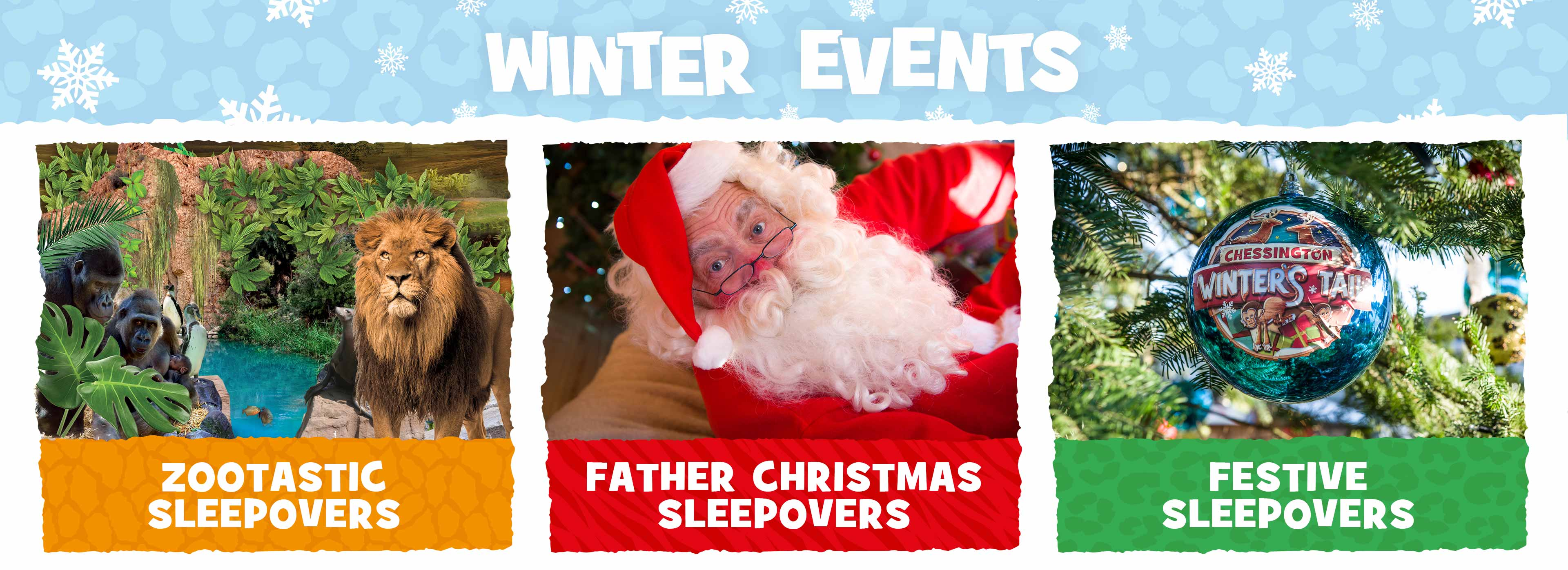 Winter Events at Chessington World of Adventures Resort