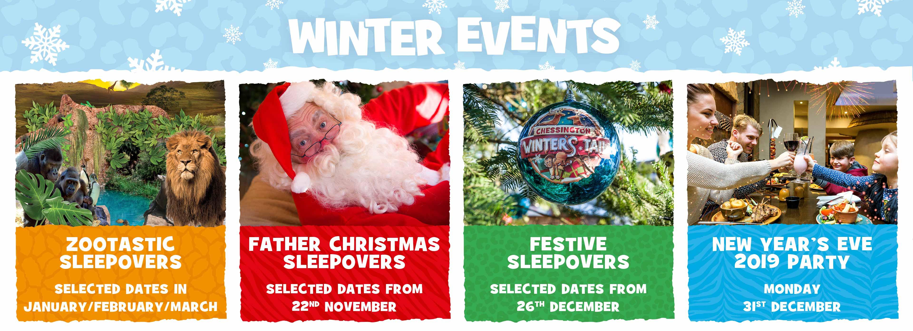 Winter Events at Chessington World of Adventures Resort