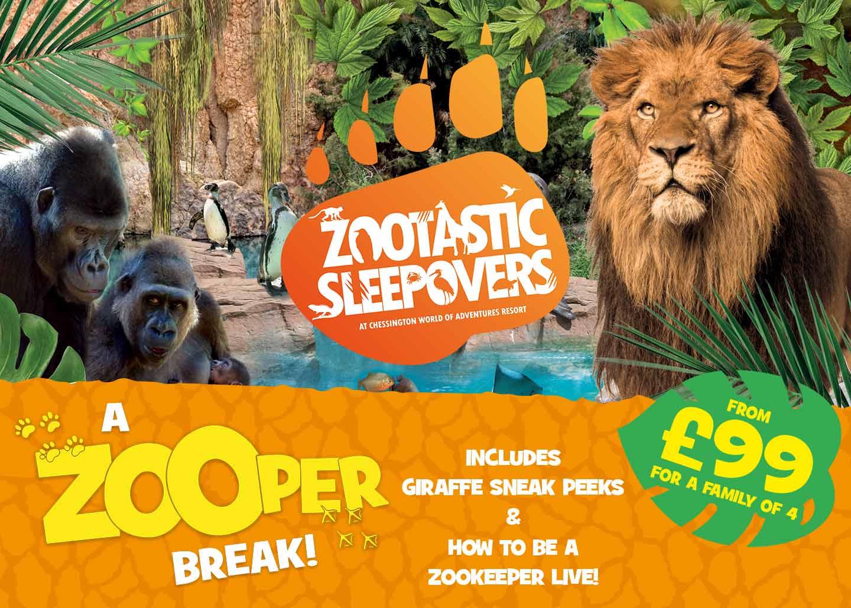 Zootastic Sleepovers at the Chessington World of Adventures Resort