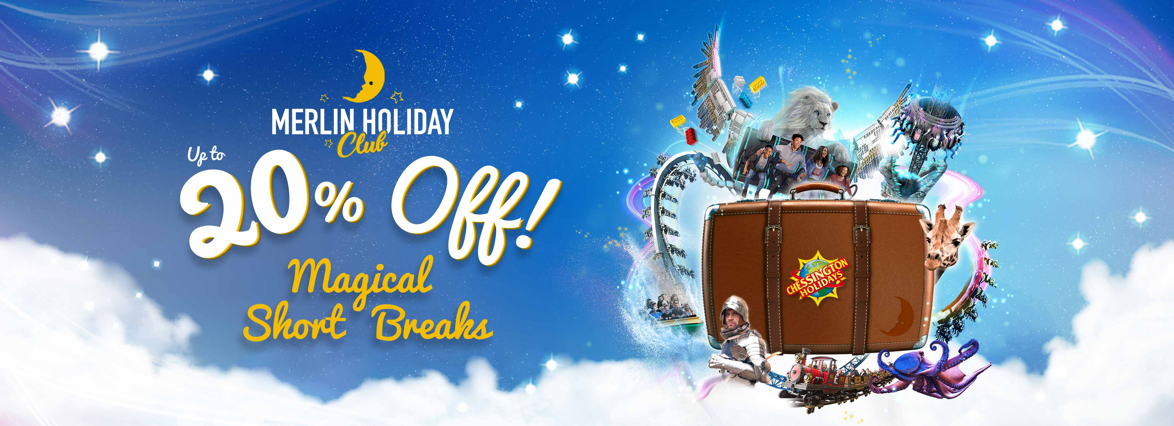 Save up to 20% on 2021 stays with your Annual Pass with Chessington Holidays.