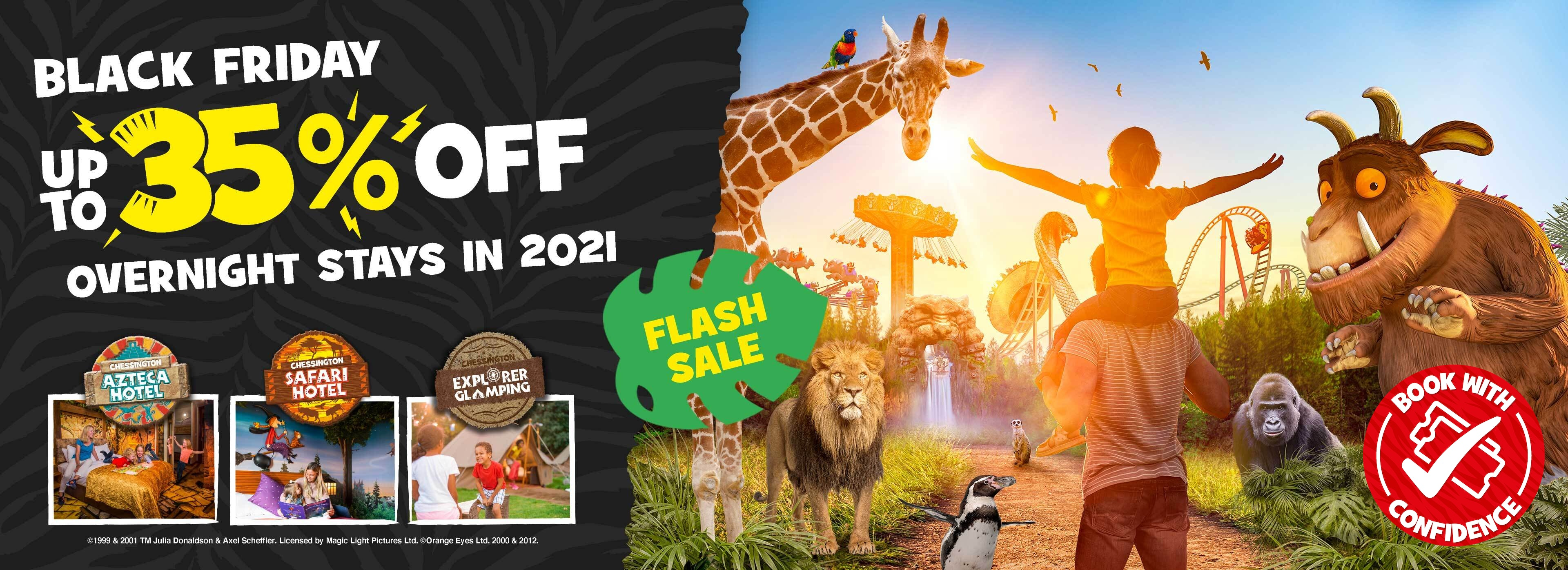 Black Friday at Chessington World of Adventures Resort