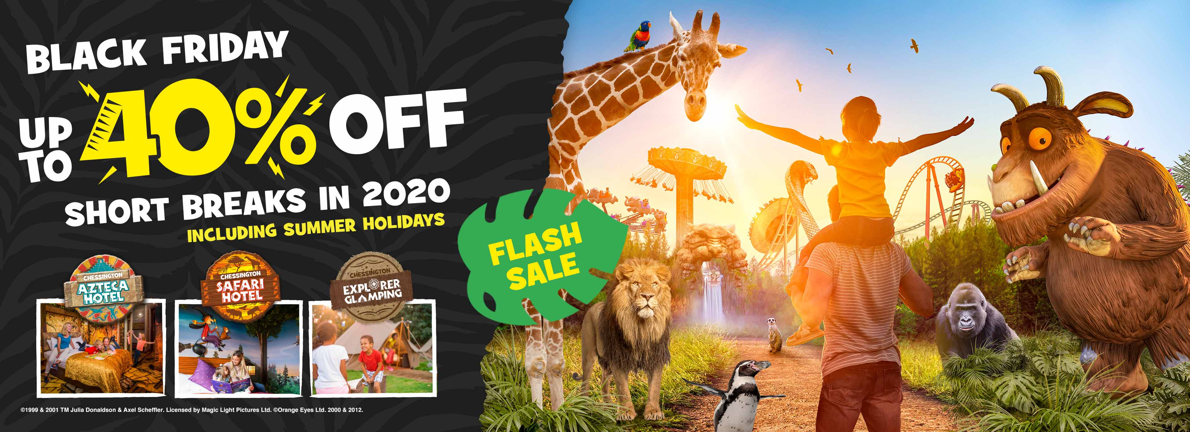 Black Friday Offer with Chessington Holidays