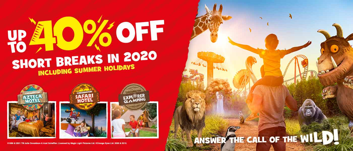 2020 Early Booking Offer with Chessington Holidays