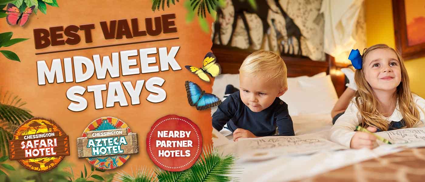 Best value midweek stays at Chessington World Of Adventures Resort