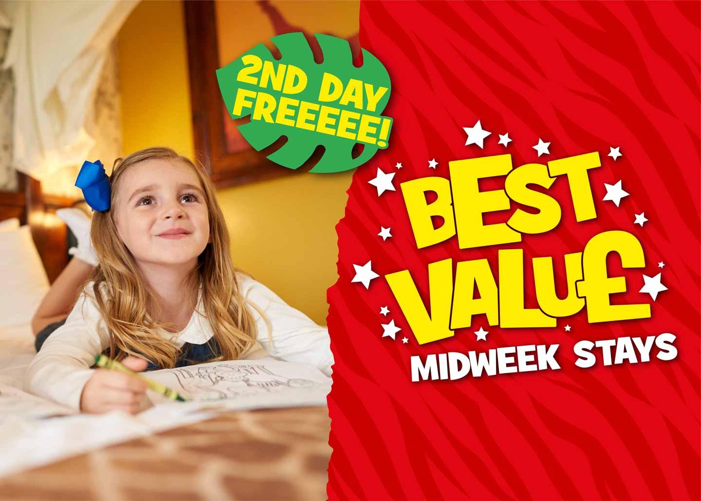Midweek Stays at Chessington World Of Adventures Resort!