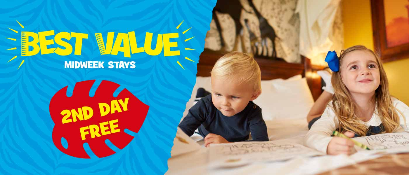 Best Value Midweek Stays with Chessington Holidays
